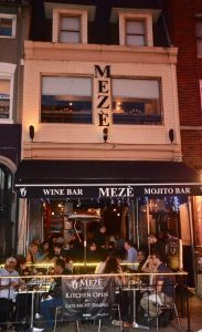, OUR STORY, Meze - The Oldest Mediterranean and Turkish Restaurant in Washington DC.